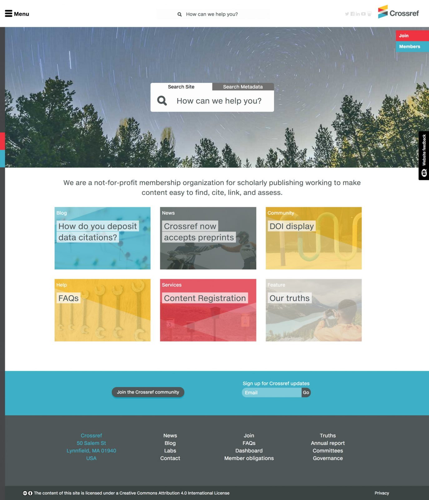 New corporate website
